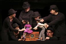 A Puppet Cabaret performance is shown in this image released on January 13, 2015 by Chicago International Puppet Theater Festival. REUTERS/Chicago International Puppet Theater Festival/Handout via Reuters