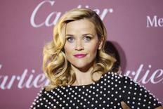 Atriz Reese Witherspoon na premiação do festival de Palm Springs. 3/1/2015 REUTERS/Danny Moloshok