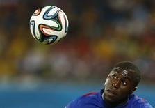 Jozy Altidore of the U.S. controls the ball during their 2014 World Cup Group G soccer match against Ghana at the Dunas arena in Natal June 16, 2014.      REUTERS/Toru Hanai