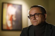 """Diretor russo Andrei Zvyagintsev, de """"Leviatã"""", em entrevista em Moscou. 24/12/2014 REUTERS/Sergei Karpukhin"""