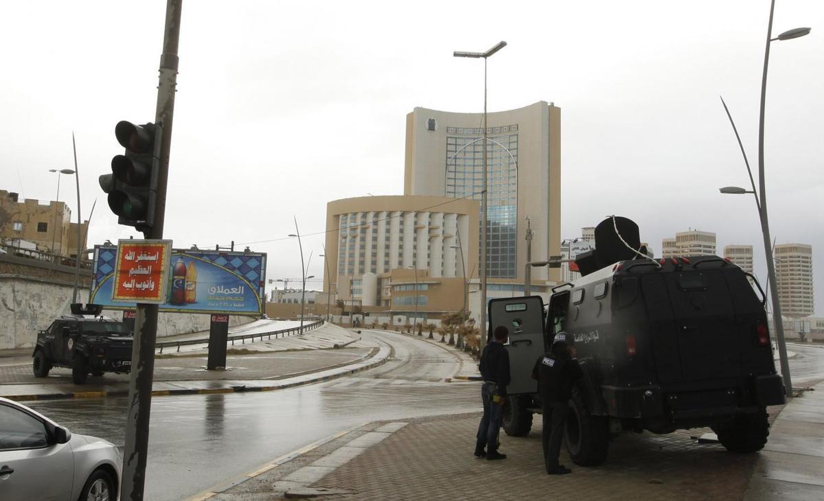Nine killed as gunmen storm luxury hotel in Libyan capital