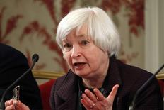 U.S. Federal Reserve Chair Janet Yellen attends a conference of central bankers hosted by the Bank of France in Paris November 7, 2014. REUTERS/Charles Platiau