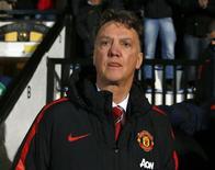 Técnico do Manchester United, Louis van Gaal. 23/01/2015 REUTERS/Andrew Winning