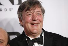 Actor Stephen Fry arrives for the American Theatre Wing's 68th annual Tony Awards at Radio City Music Hall in New York, June 8, 2014. REUTERS/Andrew Kelly/Files