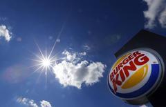 Totem de uma loja do Burger King em Hanau. 29/08/2014 REUTERS/Kai Pfaffenbach