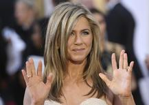 Atriz Jennifer Aniston em cerimônia do Oscar. 22/02/2015.   REUTERS/Robert Galbraith