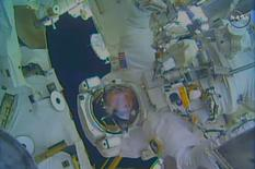 Astronauta Terry Virts em expedição da Nasa. 25/02/2015. REUTERS/NASA/Divulgação