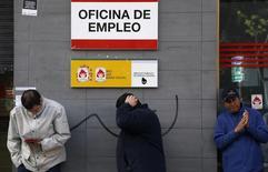 Le taux de chômage dans la zone euro a reculé pour le troisième mois consécutif en janvier à 11,2% de la population active contre 11,3% (révisé) en décembre. /Photo d'archives/REUTERS/Sergio Perez