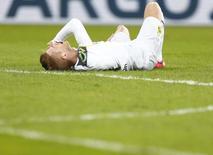 Marco Reus, do Dortmund, em partida contra o Dresden, pela Copa da Alemanha. 03/03/2015  REUTERS/Hannibal Hanschke