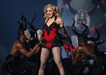 Madonna se apresenta no Grammy em Los Angeles. 08/02/2015  REUTERS/Lucy Nicholson