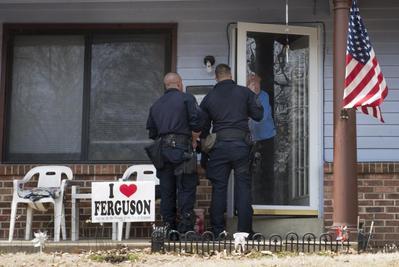 Manhunt in Ferguson