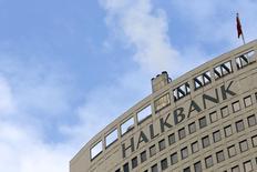 The headquarters of Turkey's Halkbank is seen in Ankara in this December 17, 2013 file photo. REUTERS/Umit Bektas/Files
