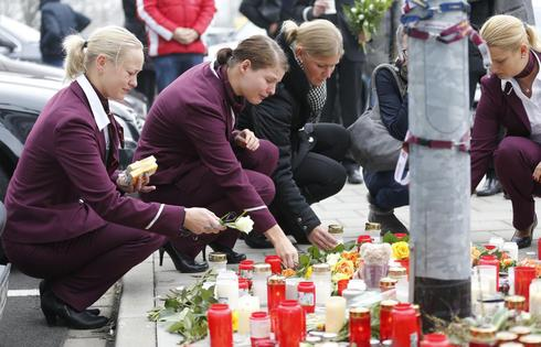 Mourning for Germanwings flight
