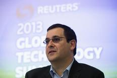 Dave Goldberg, chief executive of SurveyMonkey, speaks during Reuters Global Technology Summit in San Francisco, June 18, 2013. REUTERS/Stephen Lam