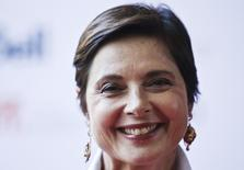 "Actress Isabella Rossellini arrives for the ""Enemy"" screening at the 38th Toronto International Film Festival in Toronto, September 8, 2013.    REUTERS/Mark Blinch"