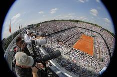 Vista geral da quadra Philippe Chatrier no complexo de Roland Garros, em Paris. 08/06/2014  REUTERS/Stephane Mahe