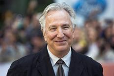 """Director Alan Rickman arrives for the """"A Little Chaos"""" gala during the Toronto International Film Festival (TIFF) in Toronto, September 13, 2014.    REUTERS/Mark Blinch"""