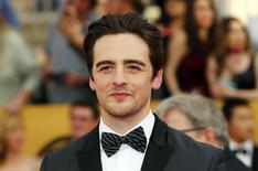 Actor Vincent Piazza arrives at the 21st annual Screen Actors Guild Awards in Los Angeles, California, in this file photo taken January 25, 2015. REUTERS/Mike Blake/Files