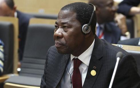 Benin president denies third term bid as vote proceeds