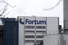 Электростанция Fortum в Елгаве 3 февраля 2014 года. Прибыль крупнейшей энергокомпании Финляндии Fortum превысила прогнозы в первом квартале благодаря новой электростанции в России, чья работа компенсировала низкую стоимость энергии на севере Европы. REUTERS/ Ints Kalnins