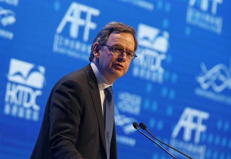 Steven Maijoor, Chair of European Securities and Markets Authority, addresses the Asian Financial Forum in Hong Kong January 19, 2015. REUTERS/Bobby Yip