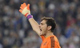 Goleiro do Real Madrid Iker Casillas. 05/05/2015 REUTERS/Giorgio Perottino