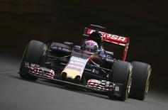 Toro Rosso Formula One Driver Max Verstappen of the Netherlands drives his car during the first free practice session at the Monaco F1 Grand Prix May 21, 2015. REUTERS/Stefano Rellandini
