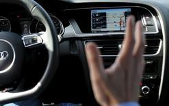 Foto do painel de um Audi, em foto de arquivo. 11/02/2015 REUTERS/Robert Galbraith