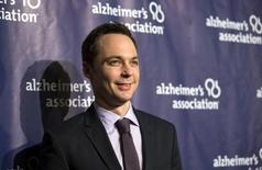 """Actor Jim Parsons poses at the 23rd annual """"A Night at Sardi's"""" benefit for the Alzheimer's Association in Beverly Hills, California March 18, 2015. REUTERS/Mario Anzuoni"""