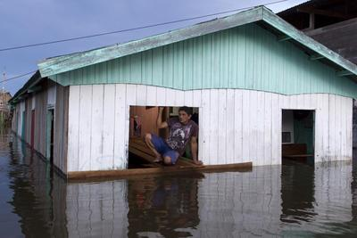 Amazon River flooding