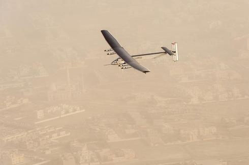 Flying solar