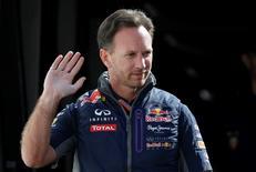 Formula One - F1 - Monaco Grand Prix 2015 - Circuit de Monaco, Monte Carlo - 21/5/15 Red Bull Team Principal Christian Horner arrives for practice Reuters / Max Rossi