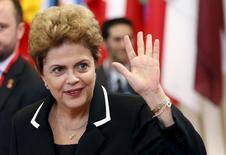Presidente Dilma Rousseff em Bruxelas 11/6/2015 REUTERS/Francois Lenoir