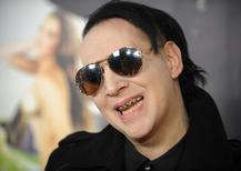Foto de arquivo do músico Marilyn Manson em Los Angeles, Califórnia. 27/09/2013 REUTERS/Gus Ruelas