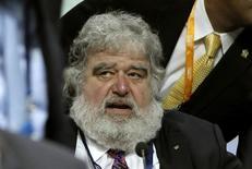 Foto de arquivo do ex-integrante do comitê executivo da Fifa Chuck Blazer durante Congresso da entodade em 2011. 01/06/2011. REUTERS/Arnd Wiegmann