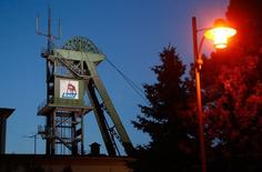 Un site en Thuringe exploité par le groupe allemand K+S. Le producteur de potasse a rejeté jeudi une offre de rachat par le canadien Potash Corp of Saskatchewan à 41 euros par action, la jugeant trop basse. /Photo d'archives/REUTERS/Ralph Orlowski