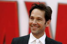 "Actor Paul Rudd arrives for the European premiere of ""Ant-Man"" at Leicester Square in London, Britain July 8, 2015. REUTERS/Luke MacGregor"