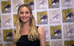 Jennifer Lawrence na Comic-Con 2015, em San Diego. 09/07/2015 REUTERS/Mario Anzuoni
