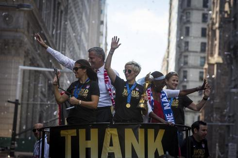 Women's World Cup parade