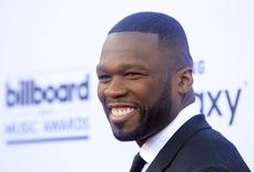 Rapper 50 Cent arrives at the 2015 Billboard Music Awards in Las Vegas, Nevada May 17, 2015. REUTERS/L.E. Baskow