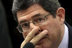 Ministro da Fazenda, Joaquim Levy, durante audiência na Câmara. 15/07/2015 REUTERS/Ueslei Marcelino