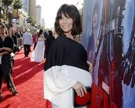 "Cast member Evangeline Lilly poses at the premiere of Marvel's ""Ant-Man"" in Hollywood, California June 29, 2015. REUTERS/Kevork Djansezian"