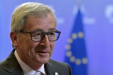 Presidente da Comissão Europeia, Jean-Claude Juncker, durante cúpula em Bruxelas, na Bélgica.  13/07/2015  REUTERS/Eric Vidal