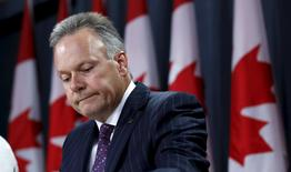 Bank of Canada Governor Stephen Poloz takes part in a news conference upon the release of the Monetary Policy Report in Ottawa, Canada July 15, 2015. REUTERS/Chris Wattie