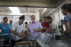 Coppola prepara massa em Cuba 16/7/2015 REUTERS/Alexandre Meneghini