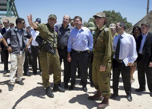 From Israel perch, U.S. vows to help counter Iran proxy threat