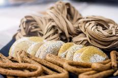 Hemp-based foods products of Azienda Agricola Fiore Marzio ILario are seen in this handout photograph taken in London July 20, 2015.   REUTERS/Stefano Fumagalli/Handout via Reuters
