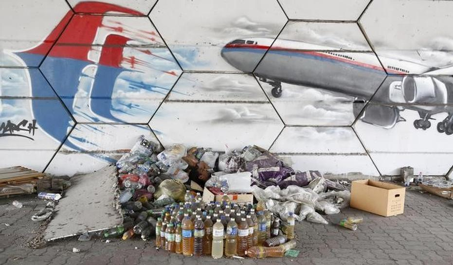 Currents consistent with Reunion debris being from MH370