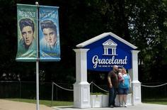Casa de Elvis Presley em Graceland. 28/5.2015.  REUTERS/Mike Blake