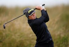 Golf - RICOH Women's British Open 2015 - Trump Turnberry Resort, Scotland - 31/7/15 Canada's Brooke Henderson during the second round Action Images via Reuters / Russell Cheyne Livepic